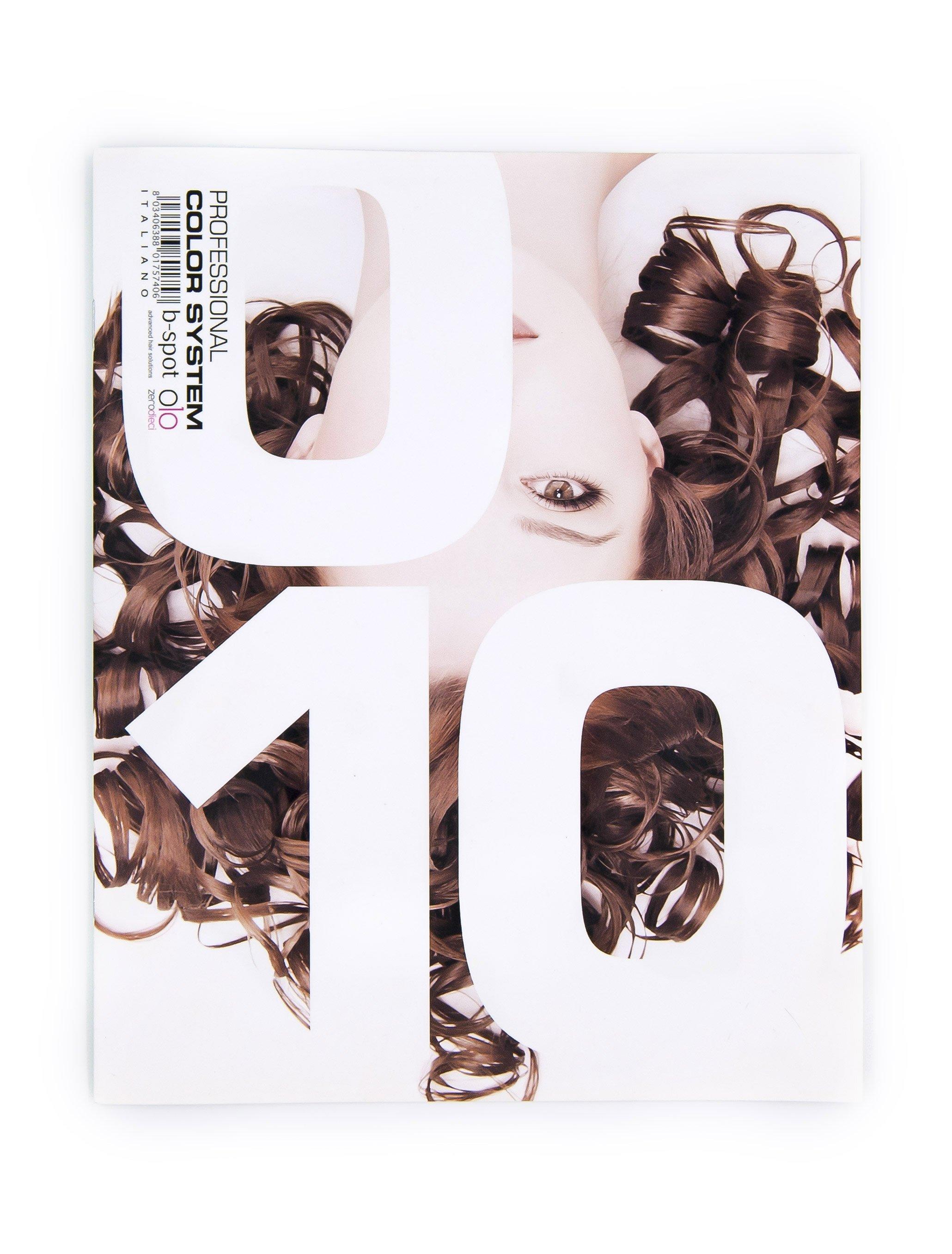 copertina catalogo prodotti parrucchieri donna